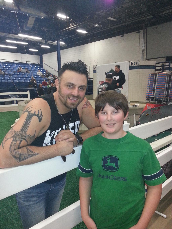 Chris Brakett, archer with Jake