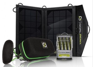 Goal Zero Rock Out Solar Kit